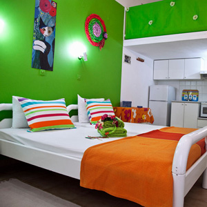 Art Apartments Iria Beach - Twin Bed Accommodation